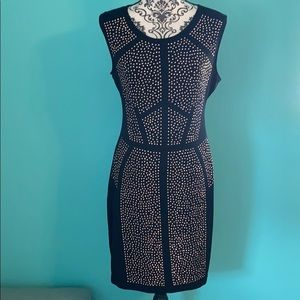 G by Guess Stud Bling Night Out Bodycon Dress